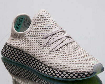 the latest 1b78f 00d99 Adidas Original Deerupt Runner Herren Neu Grau Lifestyle Sneakers B41754
