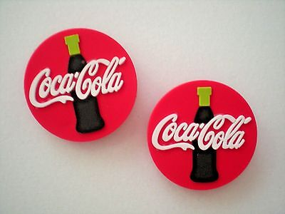 Garden Clog Sandal Shoe Charm Pin Button Plug Accessorie WristBand 2 Coca Cola