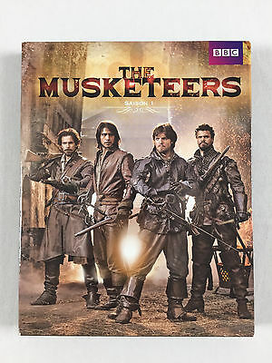 Box Blu Ray The Musketeers the integral of the Season 1 (les 3 Musketeers)