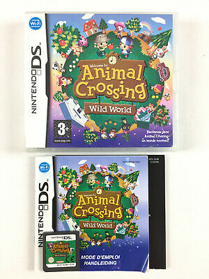 Animal Crossing Wild World / Game Nintendo DS, DS Lite, DSi, 3DS, 2DS, New