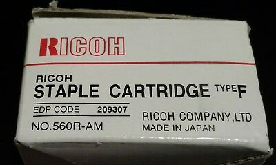 Genuine Ricoh Staple Cartridge Type F  # 560R-AM  EDP Code 209307