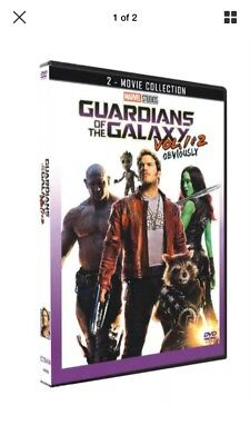 Guardians of the Galaxy Vol. 1 & 2 : 2-Movie Collection DVD Set 2018 (Free Ship)