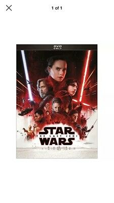Star Wars: Episode VIII - The Last Jedi DVD New Sealed Free Shipping