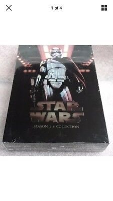 Star Wars: The Complete Saga (Episode 1-8 14-Disc DVD) Box Set