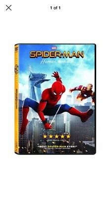 Spider-Man Homecoming (DVD MARVEL 2017) New & Sealed FREE Shipping!