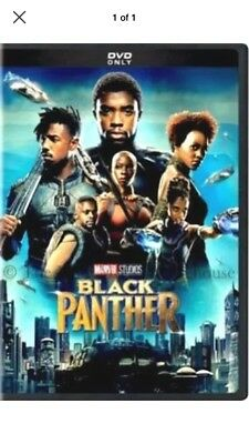 Black Panther (DVD,2018) NEW Action, Adventure