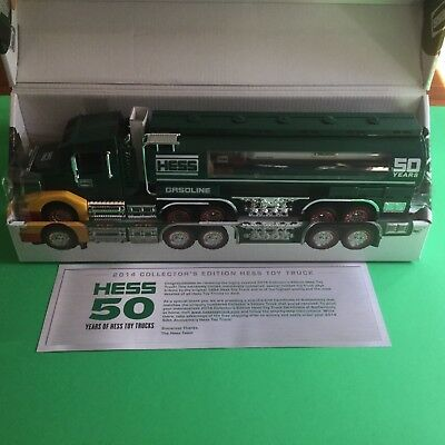 Hess 2014 50th Anniv Collectors Edition Large Truck with Small Tanker inside