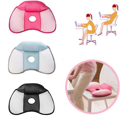 Memory Foam Car Seat Chair Lumbar Support Cushion Back Relief Seat Booster