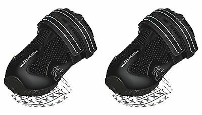 Walker Active Protective Dog Walking Boots Reflective 1 Pair Extra Small Dogs XS