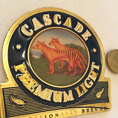 Cascade Premium LAGER  Metal Tap Badge,in good used condition