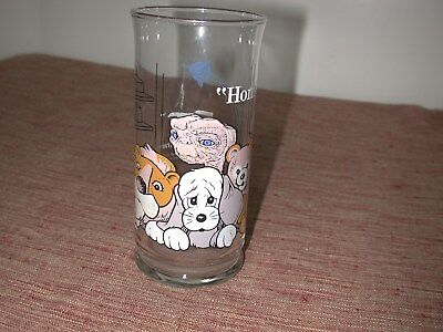 """Vintage 1982 Pizza Hut Collector's Series """" E. T."""" Glass """"home"""""""