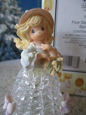 2001 Precious Moments Collectible Four Seasons Bells Spring Belle in Box 104551