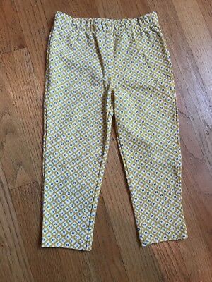 NWOT Carter's Baby Girl 24 months yellow patterned leggings
