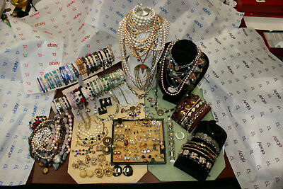 Large Lot Of Vintage Costume Jewelry Some Signed Pieces Gorgeous Lot