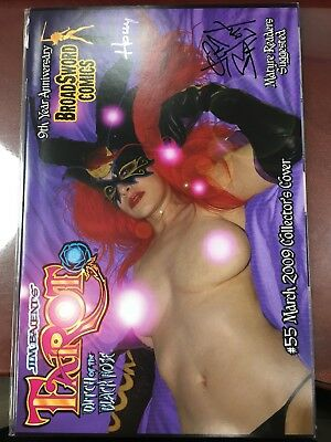 Tarot Witch of the Black Rose #55 Photo Variant Collectors Cover Signed NM-