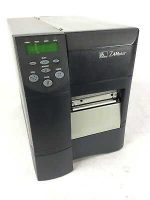 ZEBRA Z4MPLUS INDUSTRIAL Thermal Label Printer, Tested and Works, Free  Shipping
