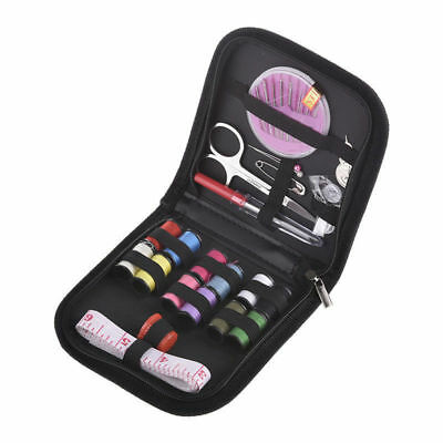 Mini Beginner Sewing Kit Case 25Pcs Set Supplies Adults Kids Home Travel Campers
