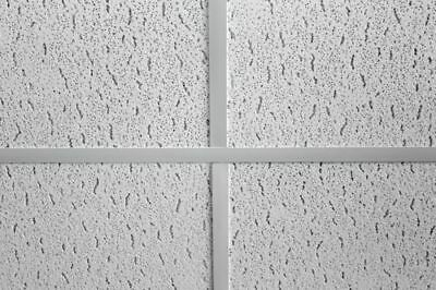 Fine Fissured Suspended Ceiling Tiles, Box 1200x600, Square Edge 1195x595mm