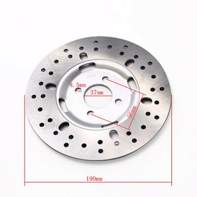 190mm Rear Brake Disc Disk Rotor for Quad ATV Buggy Go Kart TAOTAO 4 Wheeler