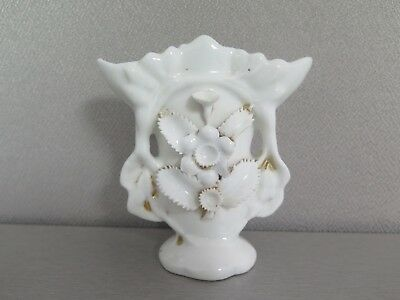 "Victorian Antique Mini Porcelain Vase 4.25"" Tall"