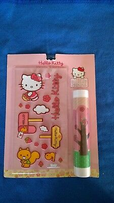 Hello Kitty Interaktiver 3D Sticker Rosa 17.5 x 33.5 cm & 25 x 70 cm
