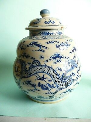 18th century Chinese Porcelain Vase, Gourd Shape with Lid..a/f..........ref.1051