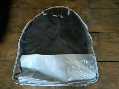 Silver cross surf hood and apron