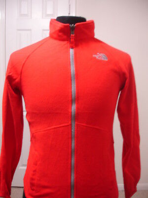 THE NORTH FACE Boy's Fleece 100% Polyester Jacket Large (14-16) Red