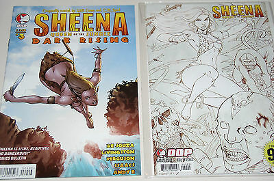 Sheena Queen Of The Jungle  - Two (2) Comics