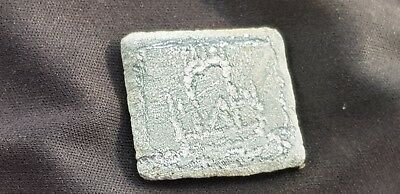 Very special Viking lead piece possibly Roman once  Please read description L417