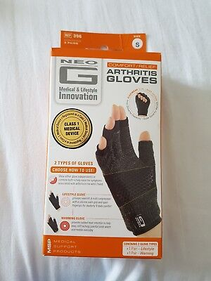 NEO G Arthritis Gloves Comfort / Relief 2 Types of Gloves Size S