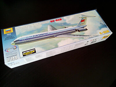1:144 Iljuschin IL-62M Passagierflugzeug Aeroflot, Zvezda 7013, Ultimate Kit