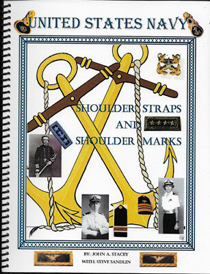 ASMIC United States Navy Shoulder Straps And Shoulder Marks  Book