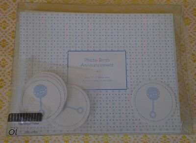 Photo Birth Announcements (9) Roobee It's A Boy ~ FREE SHIPPING