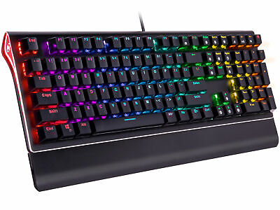 Rosewill RGB Mechanical Gaming Keyboard, Kailh Blue Switches, NEON K85