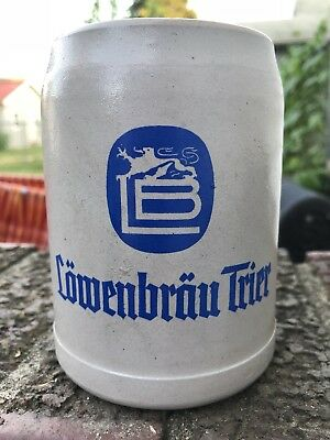 Lowenbrau Trier Beer Stein Beer Mug German Made