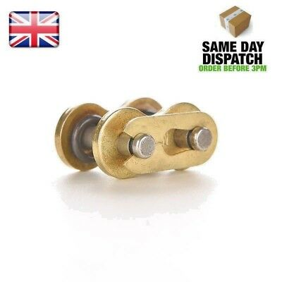 DID 525 HV O Ring Chain Split Link Gold For DID Chain Motorcycle Master Heavy D