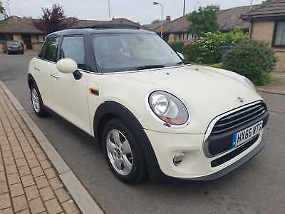 2016 66 Plate Mini 1.2 Full Leathers Sunroof 5 Years Mini Service No Reserve