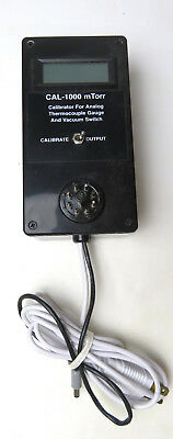 Cal-1000 Mtorr Calibrator For Analog Thermocouple Gauge & Vacuum Switch
