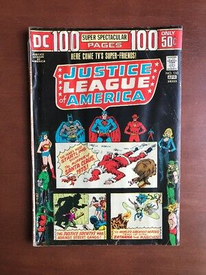 Justice League Of America #110 (1974) 4.0 VG DC Key Issue Comic 100 Pg Bronze Ag