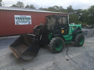 2007 JCB 520 4x4 Compact Telescopic Forklift w/ Cab & Bucket & Forks Coming In!