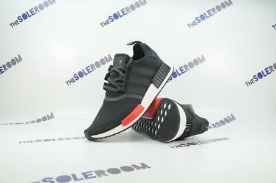 Adidas NMD R1 Footlocker EU Exclusive AQ4498 US 8.5-13 Europe FL Black Red  Nomad 9dca388fa