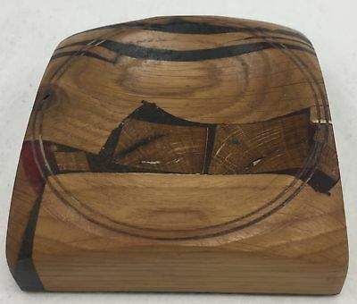 Wooden Coin Dish , Salvaged Wood From HMS VICTORY #714