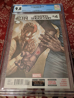 Amazing Spider-man #4 Graded CGC 9.8 (First Appearance of Cindy Moon as Silk!)