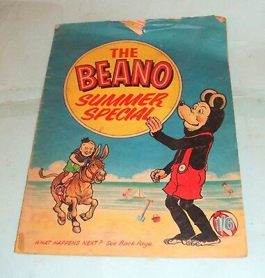 The Beano Summer Special Comic, 1966.
