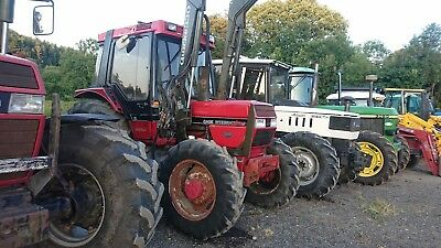 Due In Case 895 4Wd Tractor With Quicky Loader Duo Model Md Plant