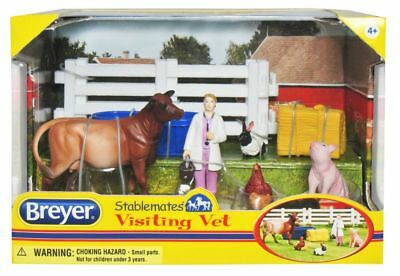 Breyer Stablemates Visiting Vet and Animals Set