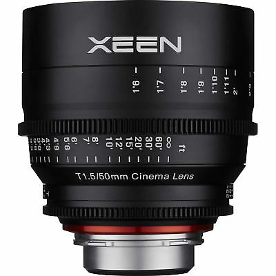 Rokinon Xeen 50mm T1.5 Lens for Canon EF Mount Cine Cinema XN50-C