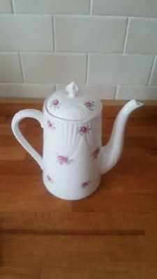 A Crown Staffordshire Coffee Pot Sweetheart Rose Pattern