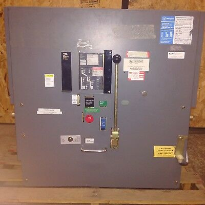 Westinghouse DS-840 Circuit Breaker EOK MO/DO 4000A with Digitrip 500 T55BLSG